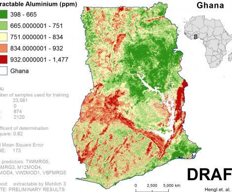 Ghana - extractable Aluminum