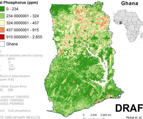 Ghana - total Phosphorus