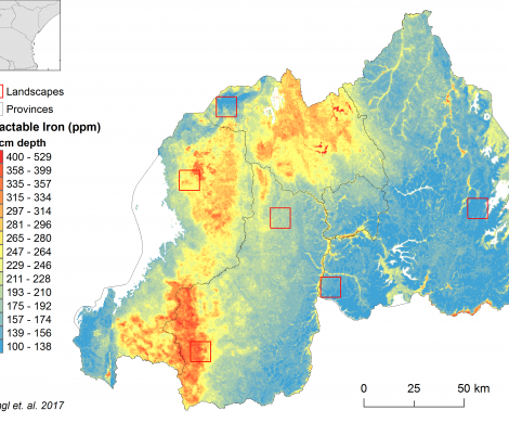 Rwanda - extractable Iron