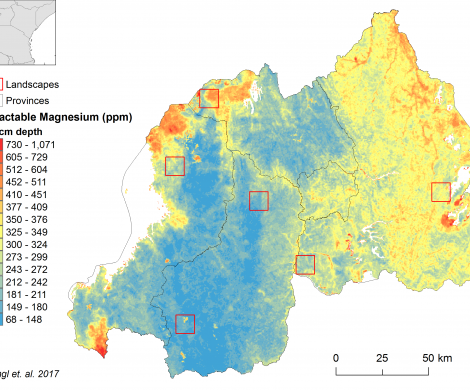 Rwanda - extractable Magnesium