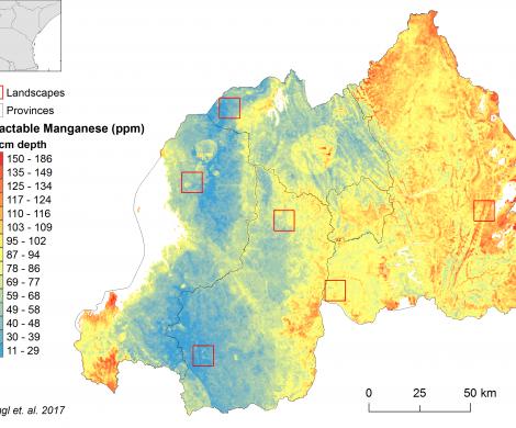 Rwanda - extractable Manganese