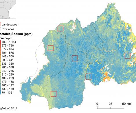 Rwanda - extractable Sodium