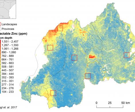 Rwanda - extractable Zinc